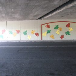 9th Street Underpass Mural