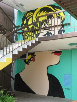 Mural of a Woman
