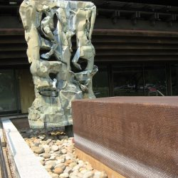 Falling Water Sculpture