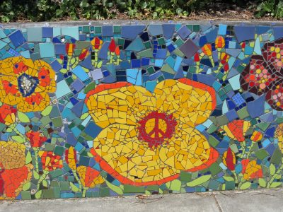 California Poppy Mosaic Mural Project