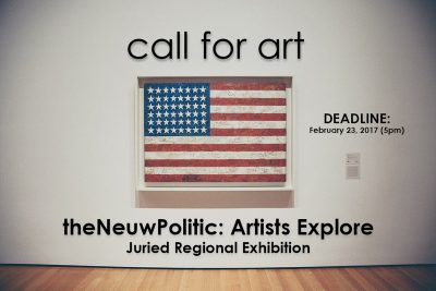 theNeuwPolitic: Artists Explore Juried Regional Competition
