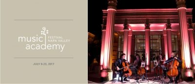 Host a Student - Festival Napa Valley Music Academy