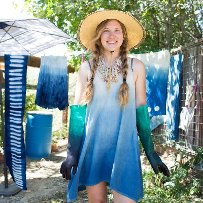 Dyeing with Indigo and Oak Galls with Ashley Eva Brock • Saturday, July 8 • 10 to 4