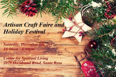 VENDORS WANTED Artisan Craft Faire & Holiday Festival