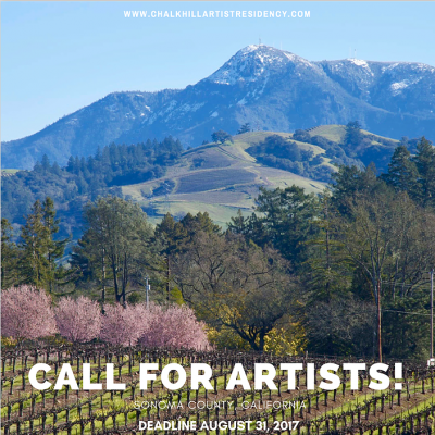 Call for Artists 2018 Chalk Hill Artist Residency