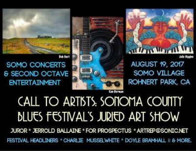 Sonoma County Blues Festival's Juried Art Show