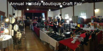 VENDOR OPPORTUNITY: Sonoma Valley Woman's Club Holiday Boutique Craft Fair 2018