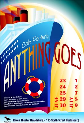 Featured Actor Wanted 'Anything Goes'