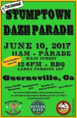Parade Float Deadline Extended for Stumptown Daze Parade