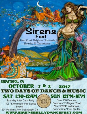 Vendors Wanted for Sirens Shimmies & Shenanigans