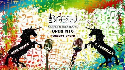 CALL TO PERFORMERS: Brew Open Mic (ongoing)