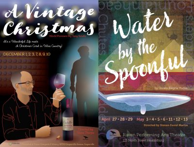 Actors Wanted 'A Vintage Christmas' & 'Water By The Spoonful'