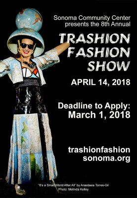 Submissions Wanted for the Sonoma Community Center Trashion Fashion Show