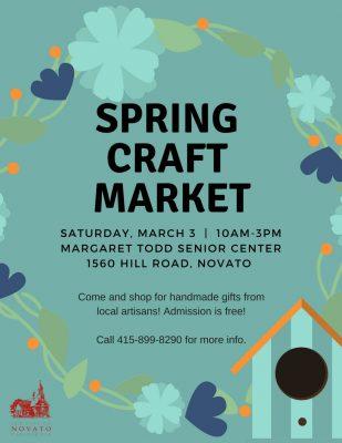 2018 Novato Spring Craft Market