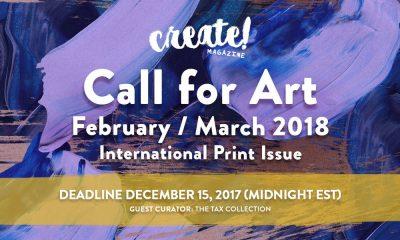 CALL FOR ARITSTS: Create! Magazine