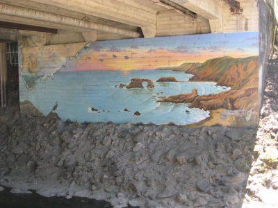 Ship, Goat Rock Mural