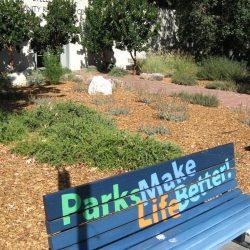 Steele Lane Community Center Art Bench