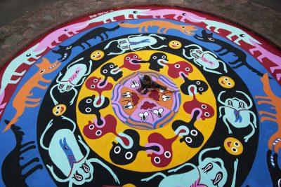 Mandala Mural