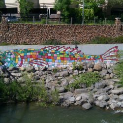 Trout Mural