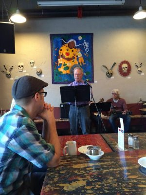 CALL TO POETS: A-Muse-ing Mondays Reading and Open Mic (Ongoing)