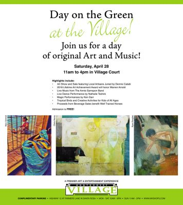 Call To Artists: Juried Art Show at the Day on the Green at the Village Festival