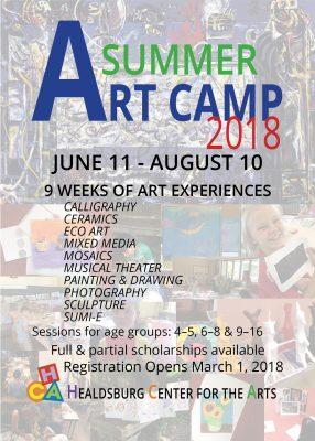 2018 Summer Art Camps