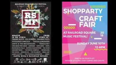 Vendor Opportunity: Shop Party at Railroad Square Music Festival