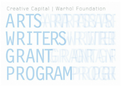 GRANT OPPORTUNITY: Arts Writers Grant Program