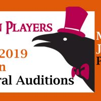 Raven Players Auditions (Plays), May 31 & Jun 3