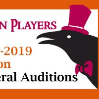 Raven Players Auditions (Musicals), Jun 10 & 11