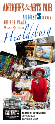 VENDOR OPPORTUNITY: Healdsburg Antiques and Arts Fair