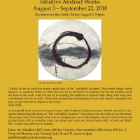 CALL FOR ENTRIES: THE CONTROLLED ACCIDENT - Santa Rosa Arts Center