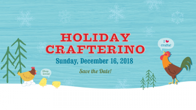 VENDOR OPPORTUNITY: 2018 Holiday Crafterino