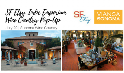 VENDOR OPPORTUNITY: SF Etsy Indie Emporium Wine Country Pop-Up