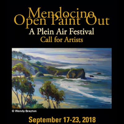 CALL FOR ARTISTS: Mendocino Plein Air Festival