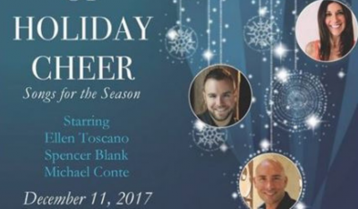 "2017.12.11:  Sonoma Arts Live Donates Proceeds from ""A Glass of Holiday Cheer"""