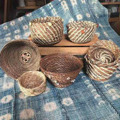Pine Needle Baskets with Judith Thomas