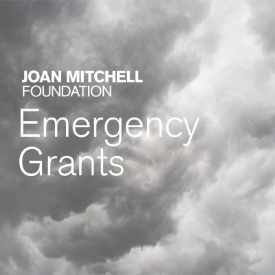 FUNDING OPPORTUNITY: 2019 Emergency support to US-based visual artists