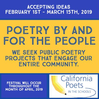 NOW ACCEPTING IDEAS: Sonoma Poetry Festival
