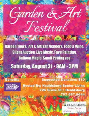 CALL FOR ARTISTS: Garden & Art Festival 8/31