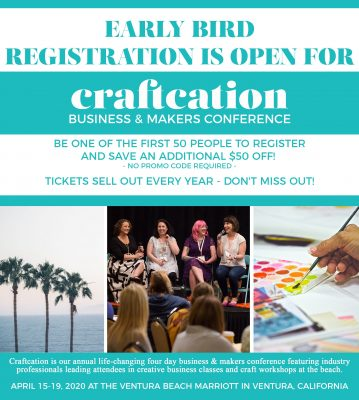 CRAFTCATION: Business + Makers Conference April 15-19 in Ventura, CA