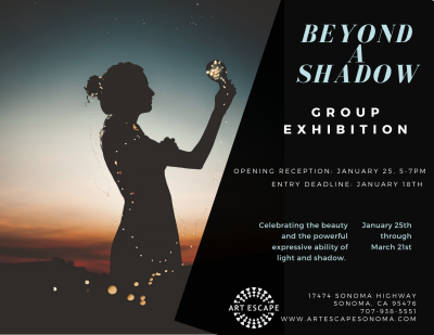 "CALL FOR ART: ""Beyond a Shadow"""