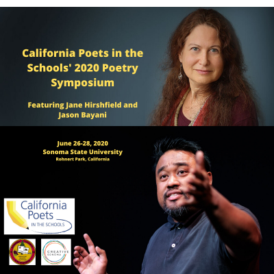 2020 Poetry Symposium Featuring Jane Hirshfield & Jason Bayani