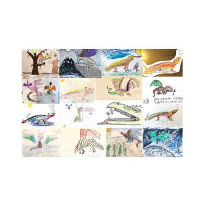 Draw a Dragon - Daily Zoom Workshop