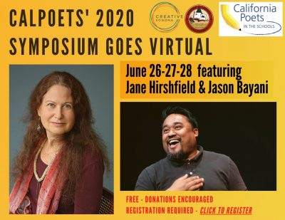 Free Virtual Poetry Symposium Featuring Jane Hirsh...