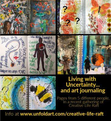 Creative Life Raft: Art Journaling Through Troubli...