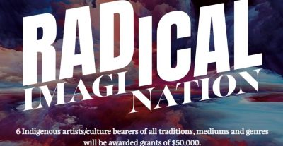 FUNDING OPPORTUNITY: Radical Imagination Grant