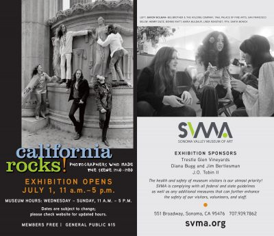 Sonoma Valley Museum of Art - Look Club - July 8th