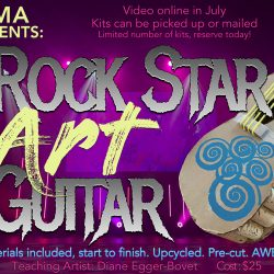 SVMA Summer Fun Programs - Mini Rock Star Art Guit...