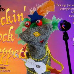 SVMA Summer Fun Programs - Rockin' Sock Puppets